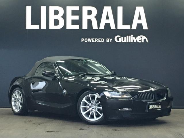 BMW Z4 ロードスター2.5i 社外ポータブルナビ HIDライト ドラレコ 17AW