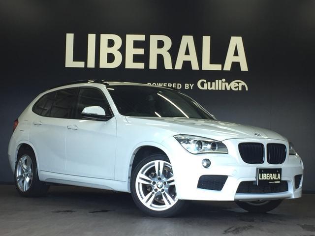 BMW X1 sDrive 20i Mスポーツ 革調シートカバー コンフォートアクセス 純正18インチアルミ 純正HDDナビゲーション