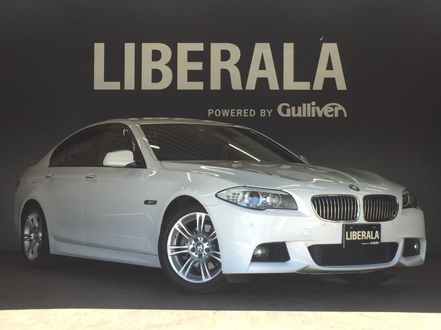 BMW 5シリーズ 523i Mスポーツパッケージ 純正HDDナビゲーション Mスポーツサスペンション バックカメラ 純正18インチアロイホイール