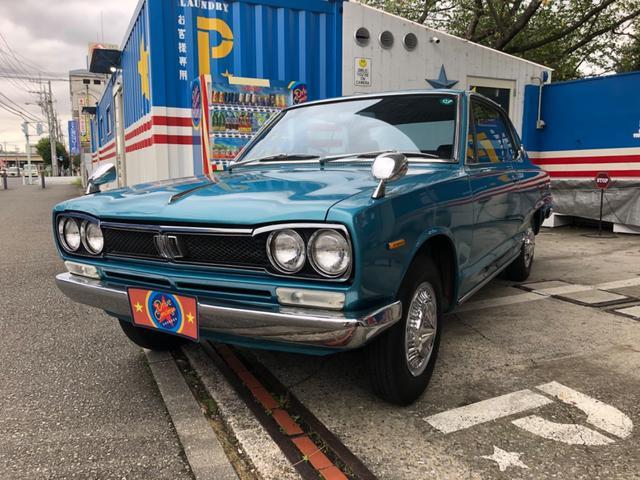 日産 スカイライン  ハコスカクーペ ショートノーズ 走行9644キロ 記録簿有り フルオリジナル ノンレストア車