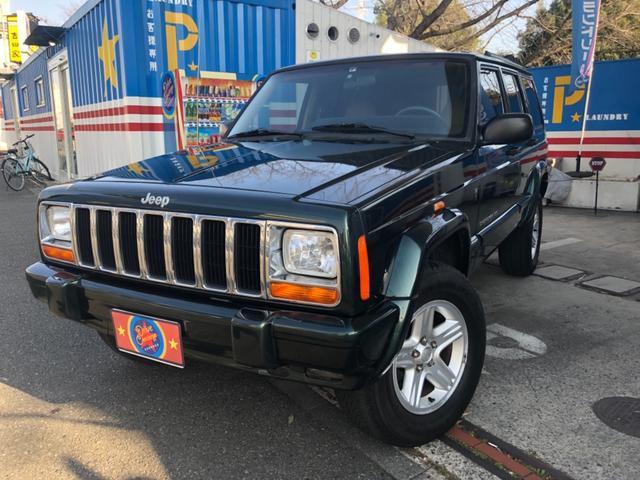 クライスラー・ジープ ジープ・チェロキー  リミテッド60周年アニバーサリーエディション 4WD クルコン SDナビ フルセグTV バックカメラ ETC付 車検令和4年6月迄 左ハンドル