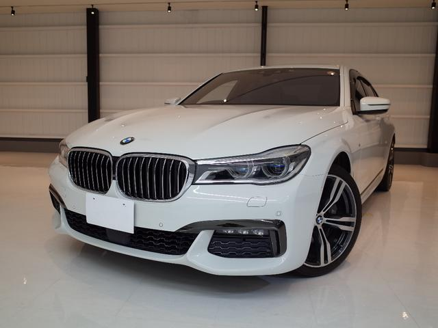 BMW 740i Mスポーツ ワンオーナー 禁煙 サンルーフ 茶本革