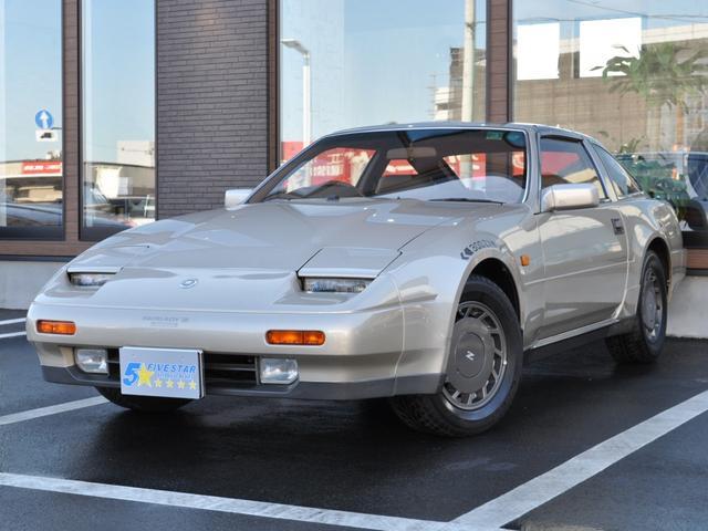 日産 300ZX ターボ 2by2 Tバールーフ 後期型 ベージュ本革シート フルオリジナルノーマル車 純正オートエアコン クルーズコントロール パワーシート 希少シャンパンゴールド 走行30500km