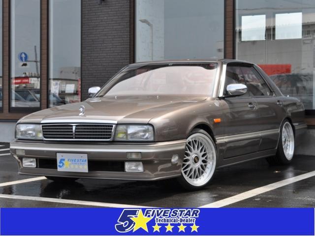 日産 タイプIIリミテッド 後期型 ワンオーナー車 フルノーマル車 マルチレス 希少ブラウン色 走行52400km 取説 記録簿多数20枚