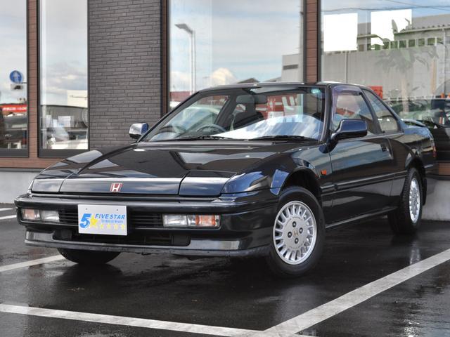 ホンダ Si ステイツ 3000台限定車Siステイツ サンルーフ リヤスポイラー リトラクタブルヘッドライト マグネシウムホイール 4WS 実走行60500キロ