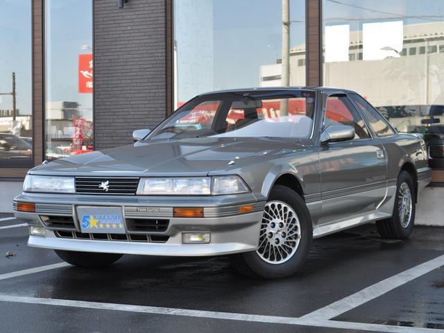 トヨタ 2.0GT-ツインターボL 後期型 純正フルエアロ 希少カラーライトグリーンツートン フルノーマル車 走行42000km 取説 記録簿付