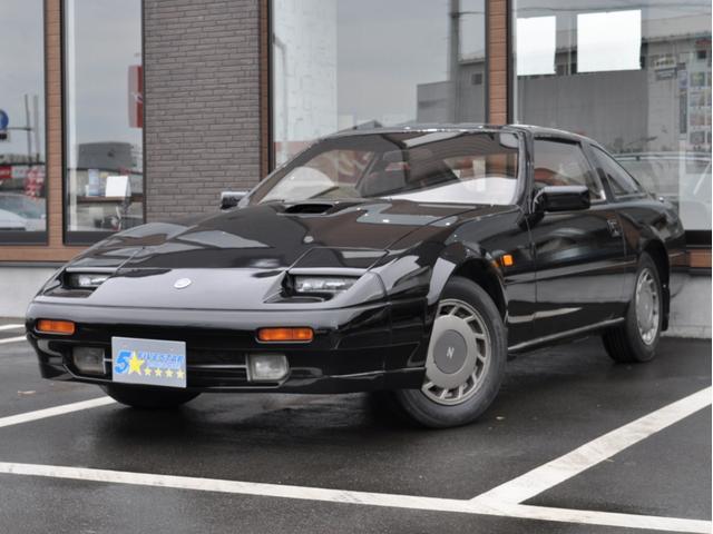 日産 フェアレディZ 200ZR-II 2by2Tバールーフ RB20DETターボエンジン 純正5速MT 純正AW 柿本マフラー 純正スポーツシート 純正オーディオ ブラック732オールペン済み
