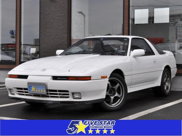 トヨタ スープラ 2.5GTツインターボR 後期モデル 純正レカロシート 純正MOMOステアリング カロッツェリアナビTV ファイナルスピード17インチアルミホイール 走行68100km 記録簿多