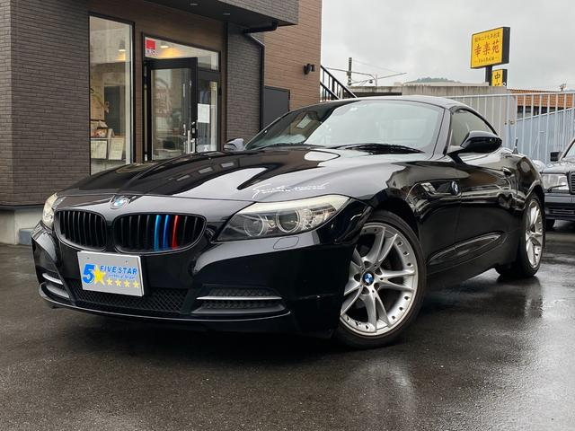 BMW Z4 sDrive23i スポーツPKG 電動オープン 正規ディーラー車 黒レザーシート 純正HDDナビゲーション パドルシフト 18インチアルミ