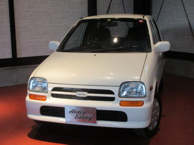 ダイハツ ミラ・モデルノ G 5速マニュアル 2万キロ台 オプションシートカバー PRIMULAフロアマット 電動格納ミラー パワーウィンドウ タイミングベルト交換済み