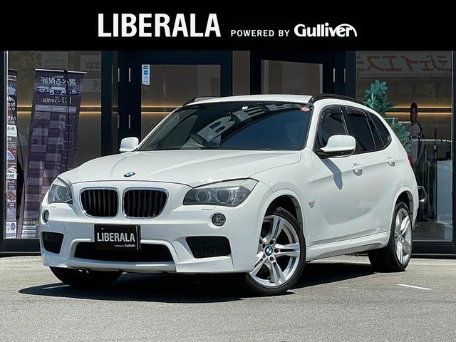 BMW sDrive 18i Mスポーツパッケージ 社外HDDナビ ヘッドレストモニター ルーフレール 社外ドアバイザー リモコンキー キセノンヘッドライト オートライト 社外レーダー探知機 プッシュスタート