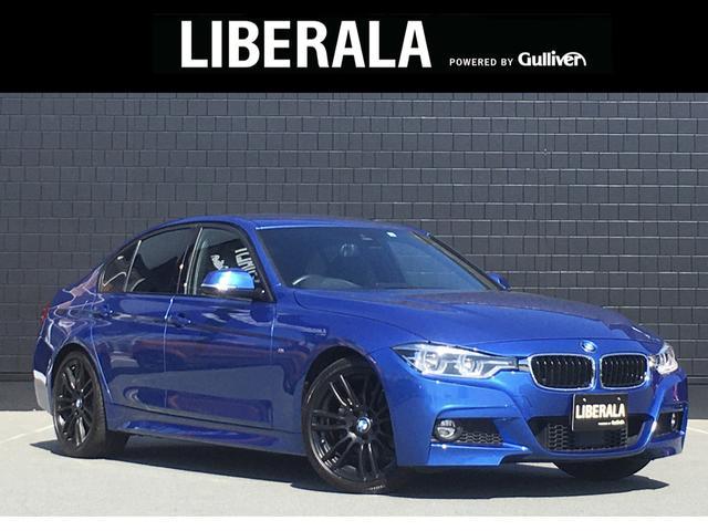 BMW 320i Mスポーツ 黒革 ACC コンフォートA 純正ナビ インテリジェントSFT OP19インチAW 前席シートヒーター 前席パワーシート LEDヘッドライト レーンディパーチャー ETC