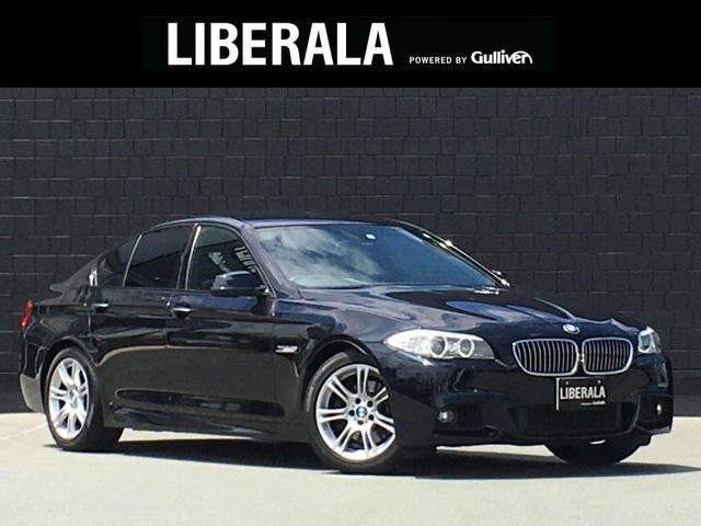 BMW 5シリーズ 523i Mスポーツ 純正HDDナビ フルセグ バックカメラ 純正18インチAW Mスポーツ専用シート クルースコントロール ミラー一体型ETC