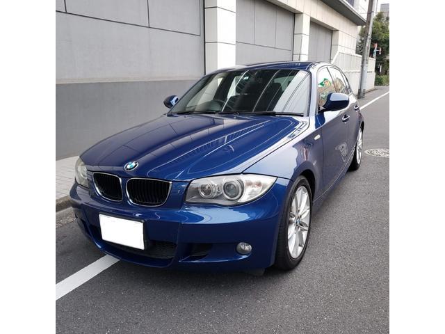 BMW 116i Mスポーツパッケージ 2DINタイプHDDナビ&フルセグTV ドラレコ ETC キセノン 専用17AW