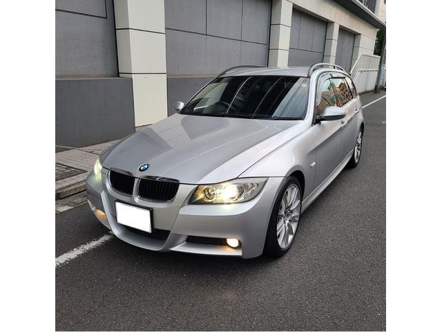 BMW 320iツーリング Mスポーツパッケージ 社外HDDナビ フルセグTV オプション18AW コンフォートアクセス キセノン 禁煙車