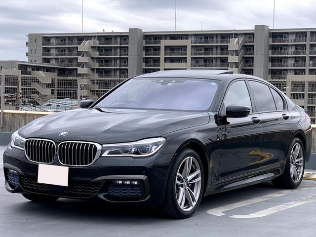 BMW 740i Mスポーツ ヘッドアップディスプレイ エグゼクティブドライブゼロ サンルーフ ソフトクローズ トップビューカメラ モカナッパレザー BMWレーザーライト Mスポーツ19インチアルミホイール