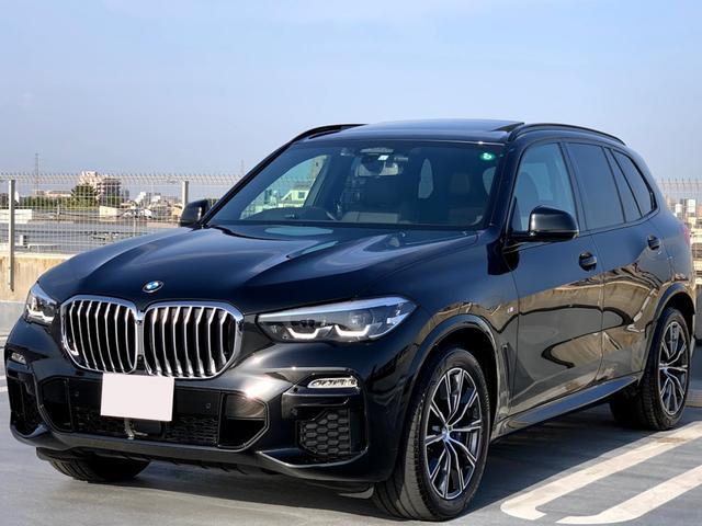 xDrive 35d Mスポーツ プラスPKG・ドライビングダイナミクスPKG・パノラマサンルーフ・ブラックレザー・インテエグレイテッドアクティブステアリング・ソフトクローズドア・エアサスペンション・ウッドトリム