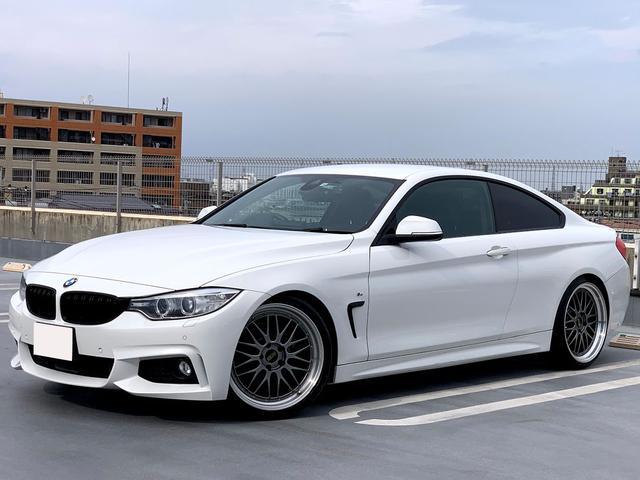 BMW 428iクーペ Mスポーツ SACHS車高調 BBS20AW アダプティブクルーズコントロール 車線逸脱警告 緊急ブレーキ ヘッドアップディスプレイ