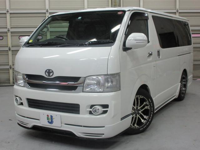 トヨタ ロングスーパーGL WALDフルエアロ 新品シートカバー