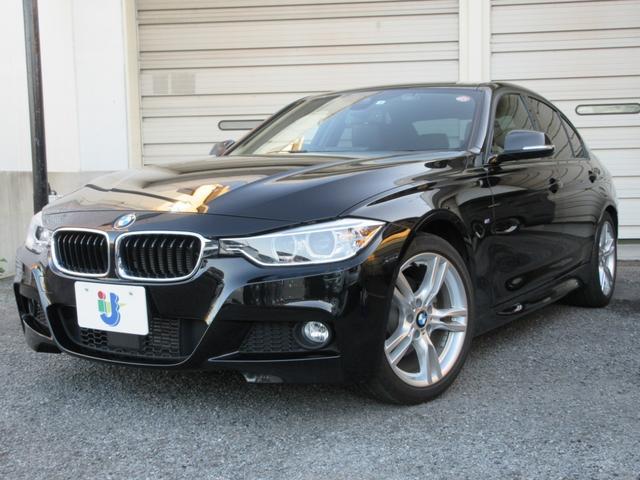 BMW 320d Mスポーツ 全国半年保証付 ACC 純正ナビ バックカメラ ソナー 衝突軽減ブレーキ 純正18AW スマートキー ドラレコ シートカバー ETC