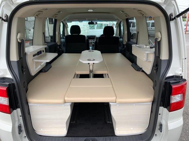 三菱 G パワーパッケージ サブバッテリー キャンピングカー 新規架装 車中泊 法人1オーナー 4WD