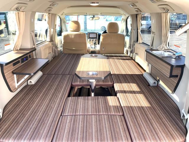 三菱 G プレミアム キャンピングカー 新規架装 車中泊 4WD サブバッテリー