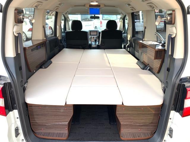 三菱 ローデスト GナビP(カスタマイズパックB) dキャンパー キャンピングカー 新規架装 サブバッテリー シンク 車中泊 4WD