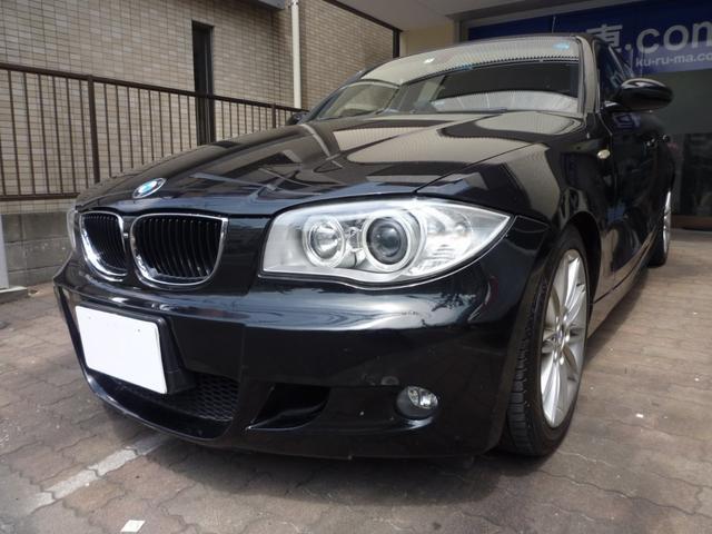 BMW 118iMスポーツパッケージ 社外ナビ・ETC・Pスタート