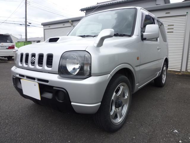 スズキ XL4WD・ターボ・AT・4ナンバー・ローダウン・ナビ
