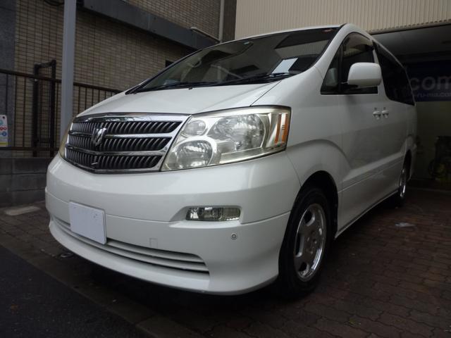 トヨタ アルファードG AX Lエディション ワンオナ・ナビ・ETC・左電スラ・社外AW