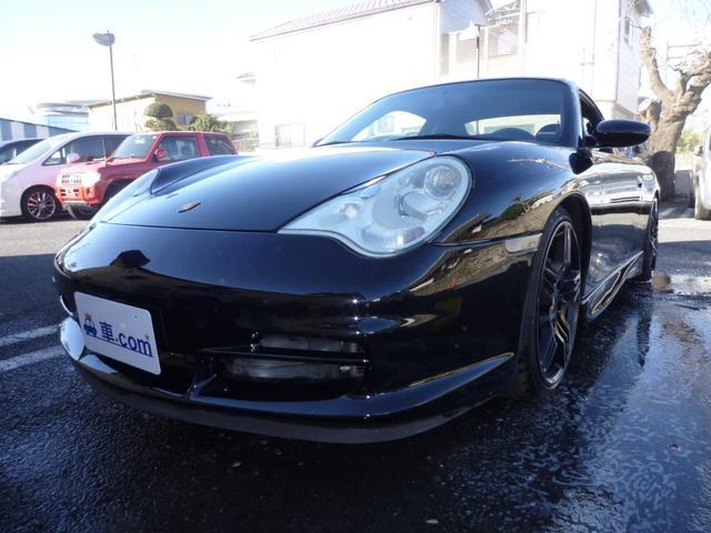 ポルシェ 911カレラ 6MT・ナビ・車高調・後期GT3仕様・ダックテール