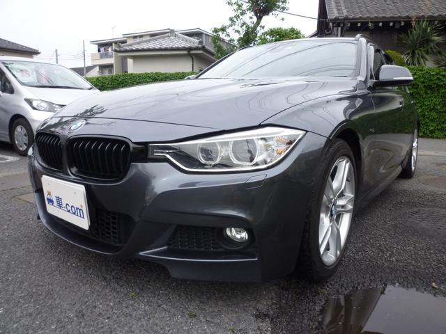 BMW 3シリーズ 320dブルーパフォーマンス ツーリング Mスポーツ コネクテッドドライブ・ナビ・ETC・Bカメラ・Pバックドア・アルカンターラシート・純正AW・プッシュスタート