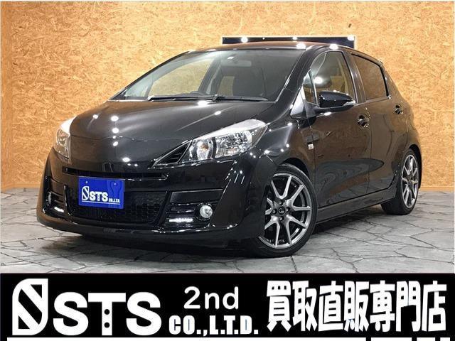 トヨタ ヴィッツ RS G's 5速MT・純正ナビ・ワンセグ・ETC