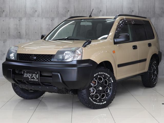 日産 エクストレイル Xサンルーフ4WD BRERAオリジナルカスタム 新品アルミ