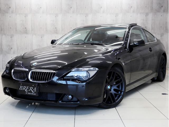 BMW 650i サンルーフ 本革Pスポーツシート シートヒーター HDDナビ ETC バックカメラ 前後センサー クルコン 18AW HIDライト プッシュエンジンスターター キーレス
