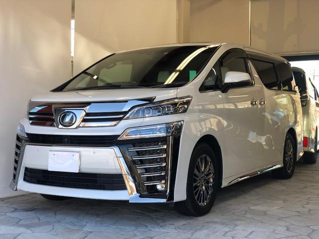 トヨタ 3.5エグゼクティブラウンジZ ワンオーナー リヤエンターテイメント
