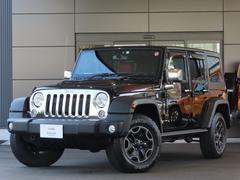 ジープ・ラングラーアンリミテッド 特別仕様車ルビコン ハードロック 4WD 禁煙車 シートヒーター レッドレザー ナビゲーション 認定中古車