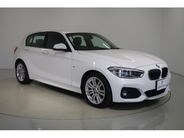 BMW 118d Mスポーツ ACC付・衝突軽減ブレーキ・LEDヘッドライト・スマートキー・純正アルミホイール・純正HDDナビ バックカメラ DVD再生 Bluetooth ETC
