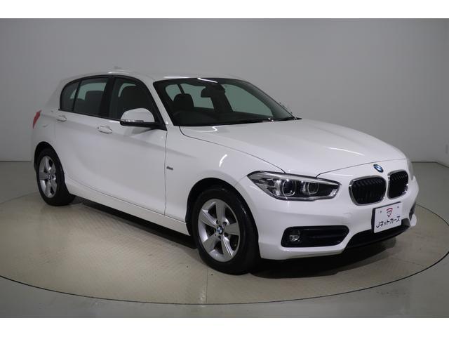 BMW 118d スポーツ 衝突軽減ブレーキ・LEDヘッドライト・スマートキー・純正アルミホイール・純正メモリーナビ・バックカメラ・DVD再生・Bluetooth・ETC