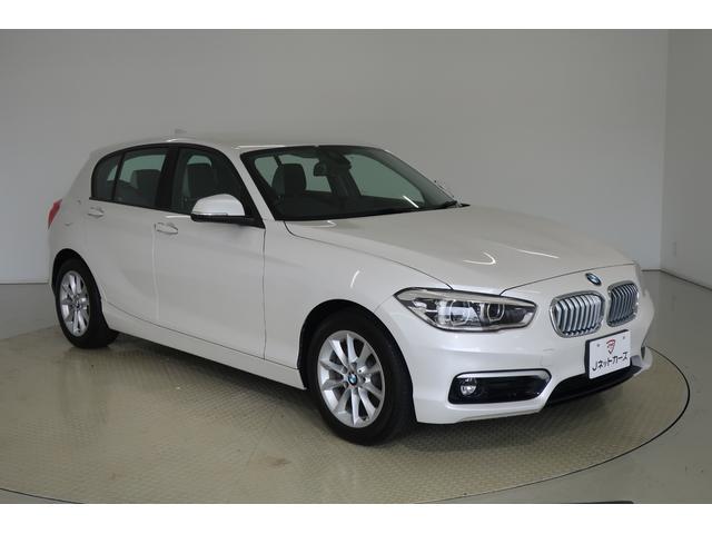 BMW 1シリーズ 118i スタイル ACC付・衝突軽減ブレーキ・LEDヘッドライト・ハーフレザーシート・スマートキー・純正アルミホイール・純正HDDナビ・バックカメラ・DVD再生・Bluetooth・ETC