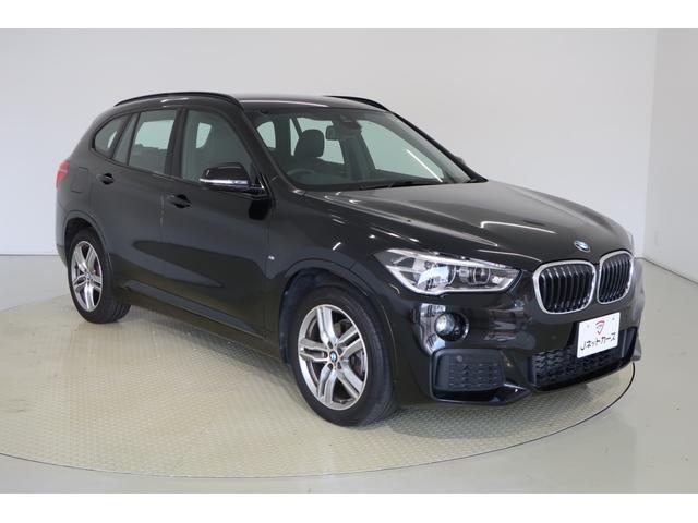 BMW X1 xDrive 18d Mスポーツ 本革シート・衝突軽減ブレーキ・前席パワーシート・前席シートヒーター・LEDヘッドライト・スマートキー・純正アルミホイール・純正HDDナビ・バックカメラ・Bluetooth・ETC