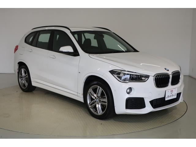 BMW X1 xDrive 18d Mスポーツ アドバンスセーフティPKG・コンフォートPKG・電動リアゲート・LEDヘッドライト・シートヒーター・スマートキー・純正アルミホイール 純正HDDナビ バックカメラ ETC