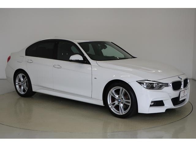 BMW 3シリーズ 320d Mスポーツ ACC付 衝突軽減ブレーキ LEDヘッドライト 前席パワーシート スマートキー 純正アルミホイール 純正HDDナビ バックカメラ パーキングセンサー Bluetooth ETC