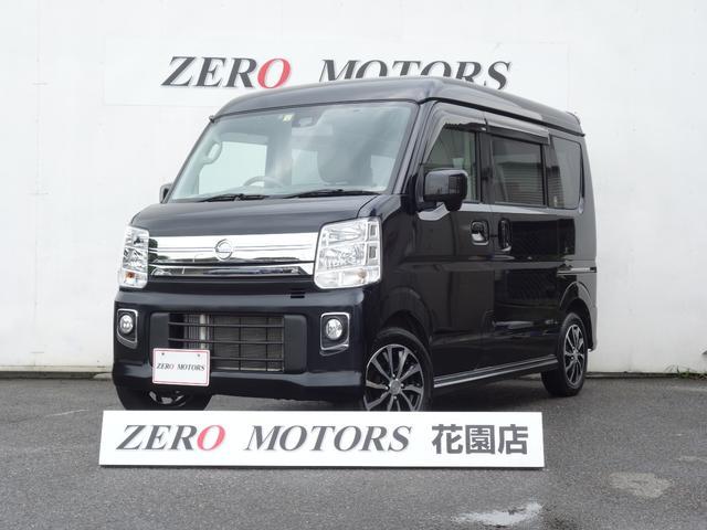 日産 NV100クリッパーリオ E ターボ 4WD ブレ-キ補助 スマ-トキ- ナビ 保証付