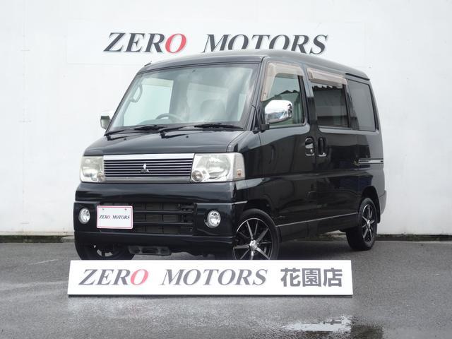 三菱 タウンボックス RX タ-ボ 4WD 修復無 キーレス ETC CD/MD アルミ フラット
