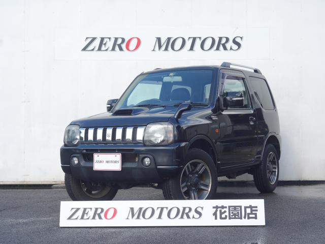 スズキ ジムニー ワイルドウインド 7型 修復無 4WD ターボ キーレス ナビ ETC テレビ/フルセグ アルミ 電格ミラー シ-トヒ-タ- 保証付