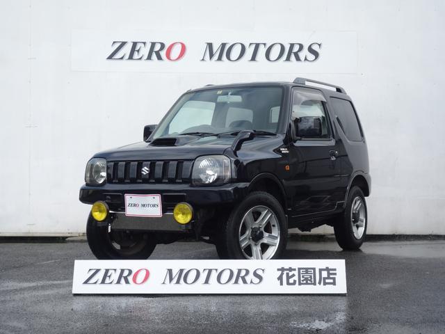 スズキ ジムニー ワイルドウインド 6型 5速MT 4WD ターボ 社外バンパー キーレス CD AUX シ-トヒ-タ- アルミ 保証付