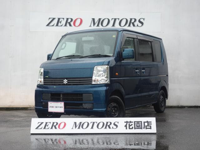 スズキ JP 4WD シ-トヒ-タ- キーレス 電格ミラー CD ABS フルフラット 両側スライドドア 保証付