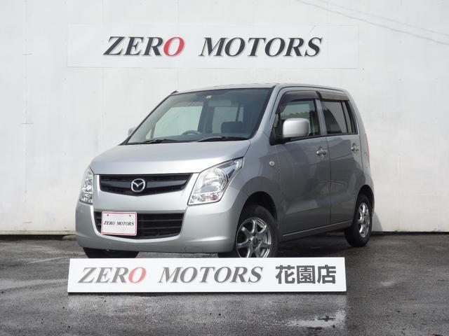 マツダ AZワゴン XG 修復無 キーレス CD アルミ ベンチシート フルフラット 電格ミラ- ABS