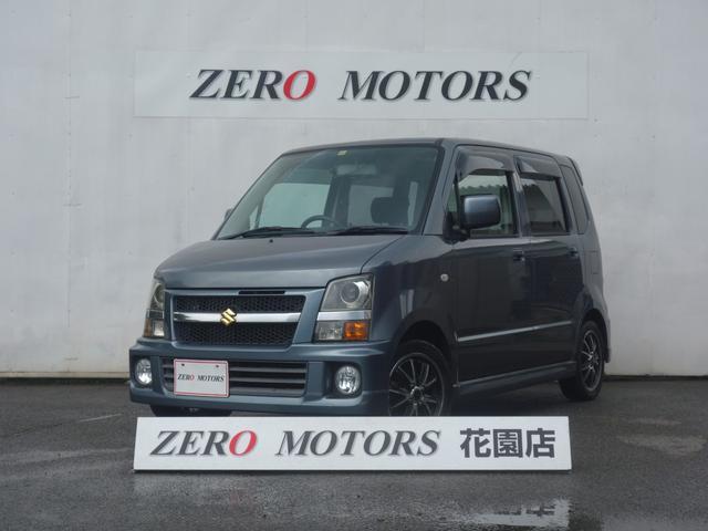 スズキ ワゴンR RR-DI ターボ 4WD ナビ ドラレコ Bluetooth接続 テレビ/フルセグ DVD再生 CD 音楽録音機能 HIDライト シートヒーター ベンチシート 電格ミラー タイミングチェーン エアロ アルミ